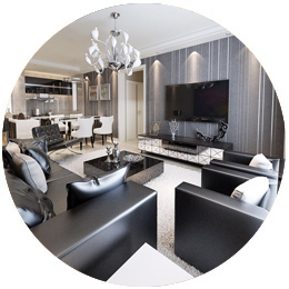 設計有品位,滿足各種家居需求