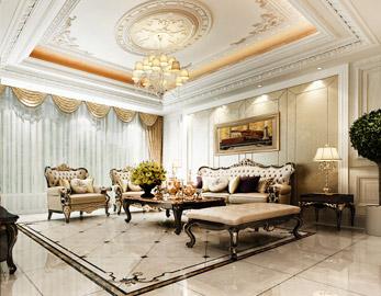盤錦美的城別墅270平歐式