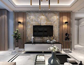 東湖悅園·90平+閣樓·現代風格效果圖