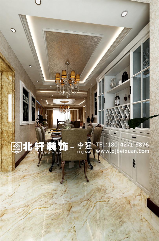 盘锦香水湖280平欧式装修效果图_盘锦楚航装修公司