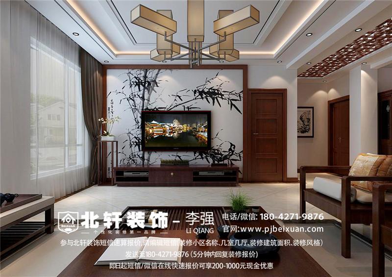 盤錦橡樹灣200平新中式別墅激情網效果圖