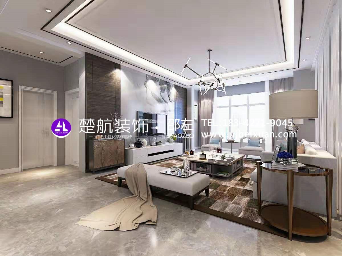 盤錦楚航裝飾霞光府一號院138+頂樓現代輕奢激情網效果圖6.jpg