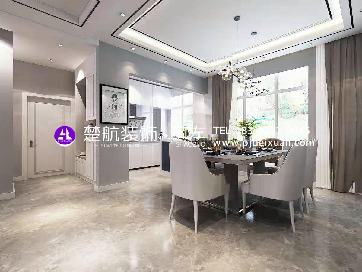 盤錦楚航裝飾霞光府一號院138+頂樓現代輕奢激情網效果圖3.jpg