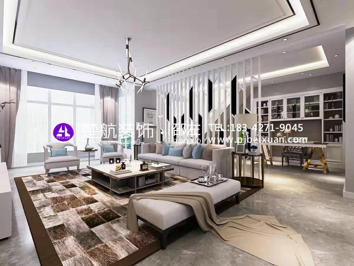 盤錦楚航裝飾霞光府一號院138+頂樓現代輕奢激情網效果圖1.jpg